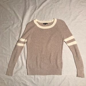 Oatmeal Collegiate Sweater